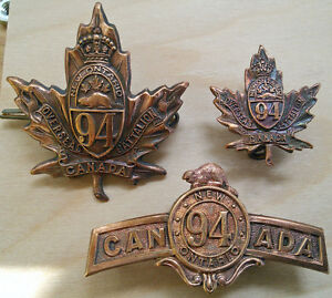 Very Rare WWI Militaria, CEF Badges Cornwall Ontario image 3