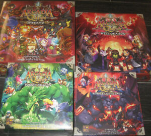 Arcadia Quest Inferno Kickstarter Edition - Sealed