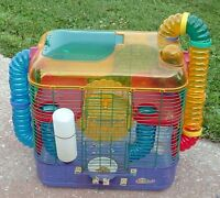 Crittertrail Cage for Hamster, Gerbil - two storey