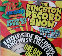 RECORD DEALERS WANTED FOR KINGSTON RECORD SHOW