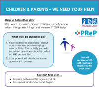 IWK Research Opportunity for Children and Parents!