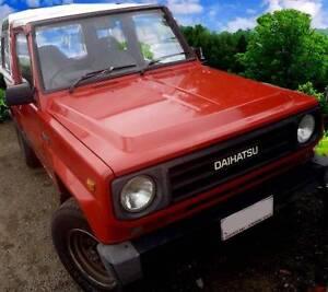 1985 Daihatsu Rocky Wagon Red Diesel Eumundi Noosa Area Preview
