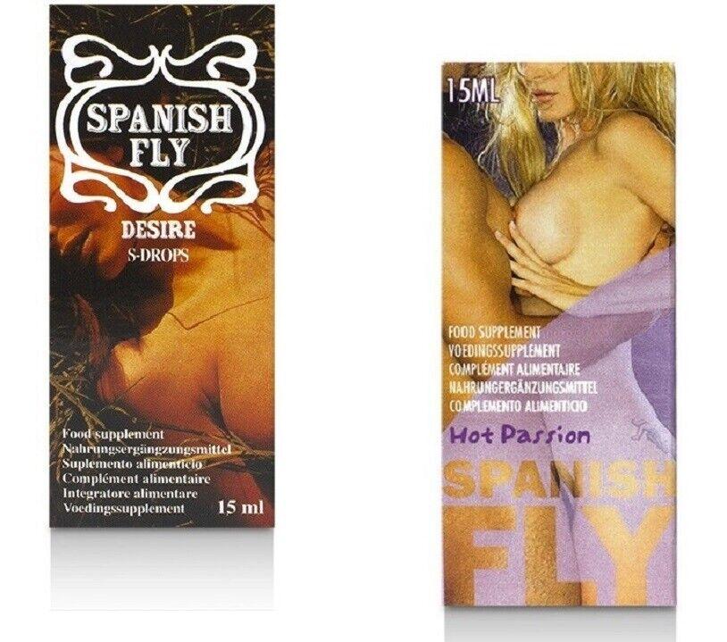 Spanish Fly Hot PASSION Spanish Fly DESIRE Drops Lust Aphrodisiaka Ausdauer Sex
