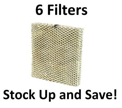 (6) Humidifier Furnace Filter for Honeywell Model HE225A NEW