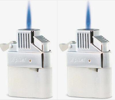 (2 Pack)  Z-Plus Butane Lighter Insert Torch Upgrade Refillable - Best Buy