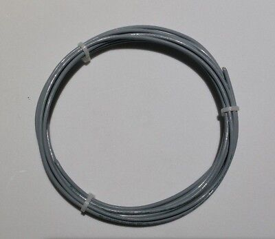 32 Awg Mil-spec Wire Type E Gray Ptfe Stranded Silver Plated Copper 10 Ft