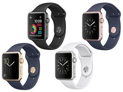 New Apple Watch Series 1 42Mm Aluminum Case Sport Band