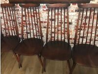 Stunning Ercol chairs, great condition, original cushions, 1960'