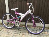 Girls Bike 26 ins