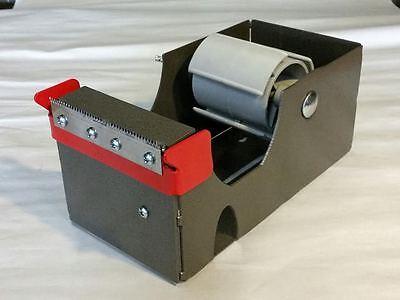 4 Inch Tape Dispenser. Heavy Duty Commercial Grade . 4 Wide 3 Core