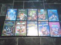 DVDs for kids Walt Disney - 10pcs for £10.00!