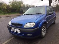 CITROEN SAXO FURIO 1.4 LONG MOT CHEAP TO RUN TAX AND INSURE