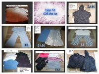 ladies clothes size 18 prices on pictures or £45 for the lot collection from Didcot