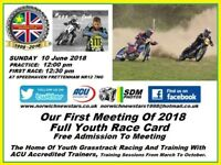 Youth Grasstrack Race Meeting