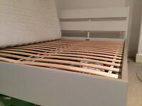 Ikea bed frame, slats beam and foam mattress, great condition - Pick up only-£100-offers considered