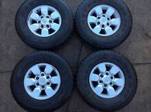 2009 Toyota Hilux SR5 15 inch alloy wheels x4 Dural Hornsby Area Preview