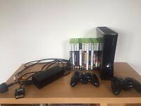 Xbox 360 black, slim, 25ogb