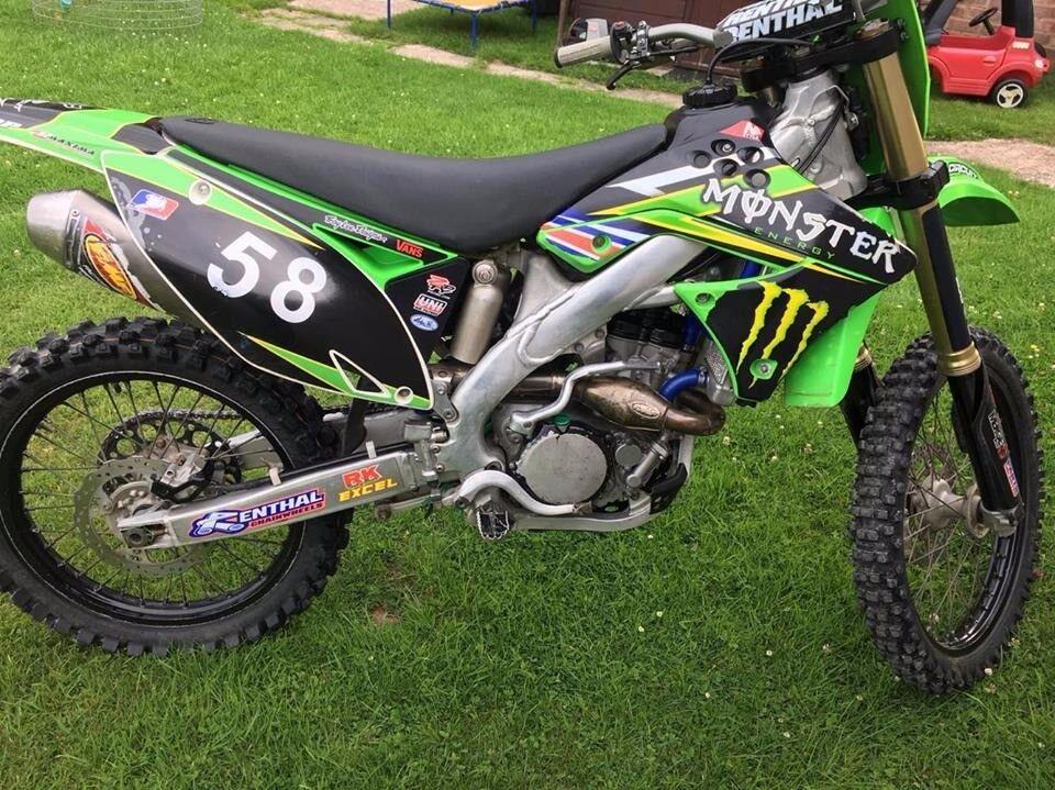 2010 Kawasaki Kxf 250 4 Stroke Motocross Bike In Alcester
