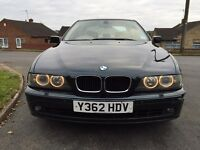 BMW e39 530d 2001 manual 12months MOT