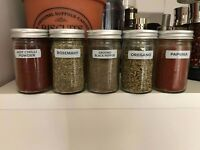 5 Spices Jars