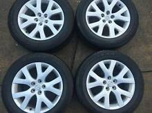 Mazda CX-7 18 inch alloy wheels x4 Dural Hornsby Area Preview