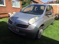 Nissan micra 1.4 petrol 2004 (spares and repair)