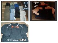 boys clothes 10 years some 10-11 prices on pictures or £15 the lot