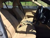 BMW 5 Series 530D Full Cream Leather, Navigation, Wide LCD screen