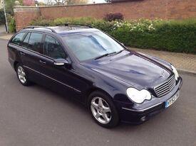 2003 53 Mercedes-Benz C Class Estate 2.1 C220 CDI Avantgarde SE, Automatic, Diesel, 5 Door, FSH