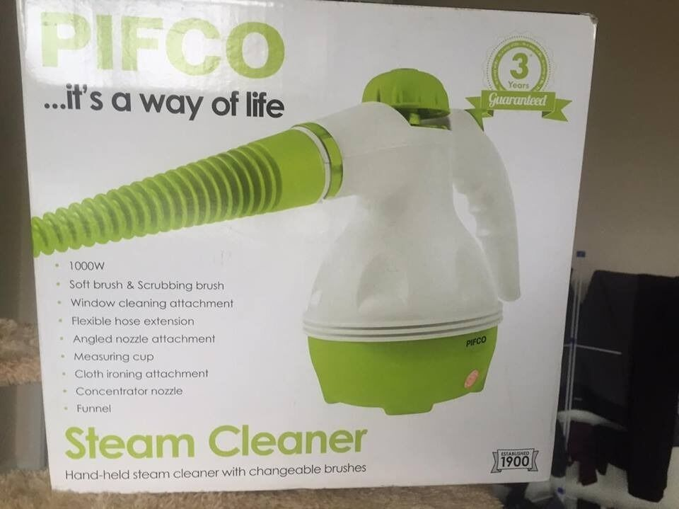 PIFCO steam cleaner and cloth ironing