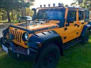 LAST CHANCE!!! 2013 SUPERCHARGED JEEP Wrangler VERY LOW KMS Bairnsdale East Gippsland Preview