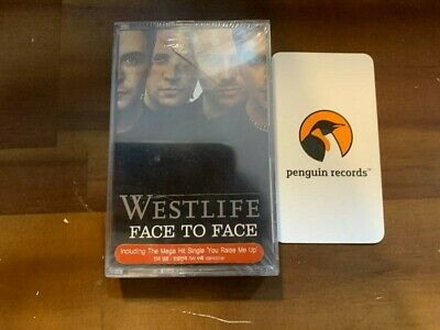 Westlife - Face to Face CASSETTE TAPE KOREA EDITION SEALED