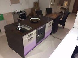 Modern Matt Fresco Beige Kitchen