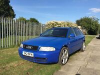 **1999 Audi S4 A4 B5 Quattro Avant Estate - 2.7 Petrol V6 Bi-Turbo - Spares Or Repairs**