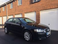 2008 08 Audi A3 1.9 Tdi *£30 Roadtax* 3dr Full Service History not 2.0 tdi golf gtd gt a4 1 series