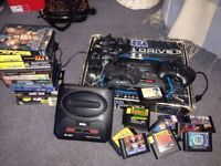 Sega MegaDrive2 BOXED with games