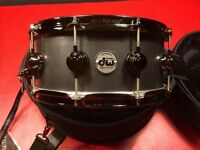 "DW Collector's Series 14 x 6 ""Black Iron, Limited Edition Snare"