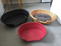 X3 DOG BASKETS FOR SALE INDIVIDUAL OR AS A JOBLOT