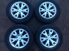 Ford Ranger Wildtrak 18x8 Alloy Wheels x 4 Dural Hornsby Area Preview