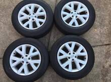 2013 Nissan Xtrail T31 18x7 Alloy wheels x4 Dural Hornsby Area Preview