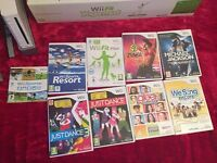 Wii Console, accessories and games for sale