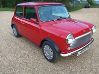 1994 ROVER MINI MAYFAIR AUTOMATIC 37.000 MILES RUST FREE SERVICE HISTORY FULL MOT