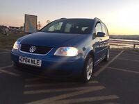 Volkswagen Touran 2.0 TDI (150BHP) Sport, 7 Seater, 6 Gears, Low Miles, 68+MPG LOW MILES!