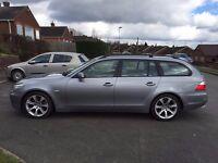 BMW E61 525i auto 12 months MOT
