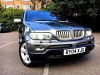 (((BMW X5 4.4i V8 Sport Exclusive 2KEYS FULL SERVICE HISTORY!!)))
