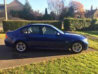 BMW SERIES 3, 2007 BLUE