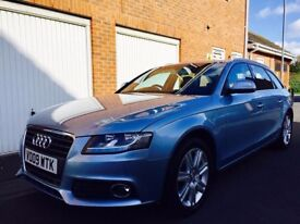2009 09 Audi A4 Avant 2.0TDI (140bhp)++FULL LEATHER++SAT NAV++FSH+Cambelt not 320d touring a6 520d