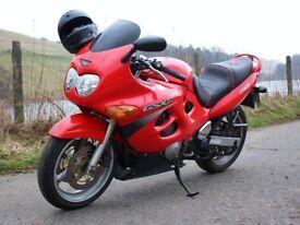 SUZUKI GSX 600 MOTORBIKE LOW MILEAGE GREAT FIRST BIKE
