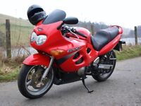 SUZUKI GSX 600 MOTORBIKE LOW MILEAGE GREAT FIRST BIKE