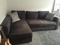 Dark Grey Sofa Bed For Sale Pillows included Corner Furniture Living Room Sofa